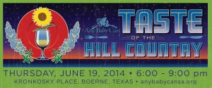 Taste of the Hill Country logo 2014 horiz
